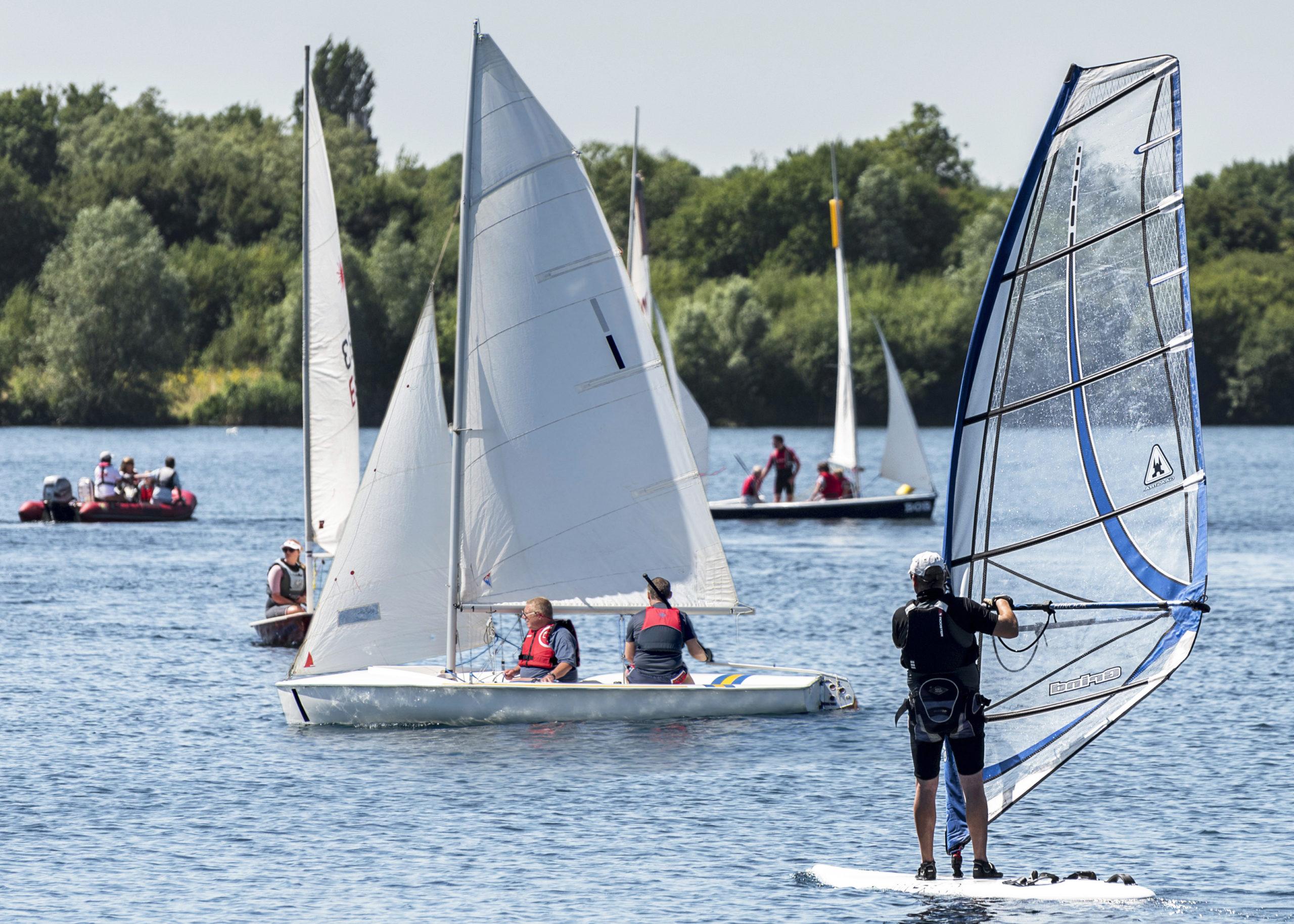 Credit - South Cerney Sailing Club