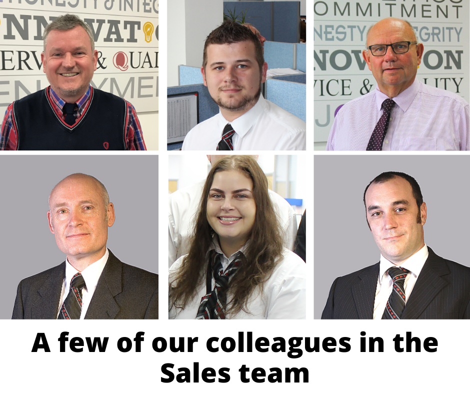 Some of our sales team